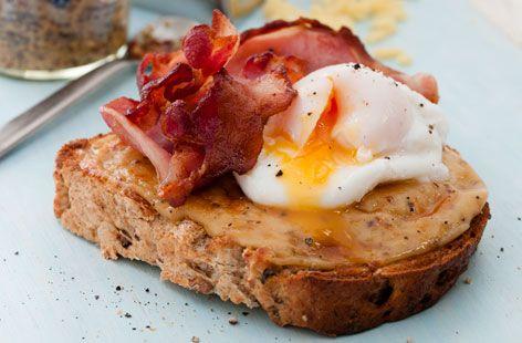 Welsh rarebit with cheddar | Recipe