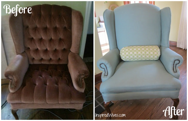 diy chair reupholstery For the Home