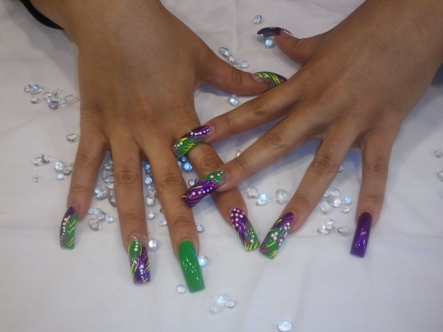 Free Hand Nail Art Work | Nails By Nay Nay | Pinterest