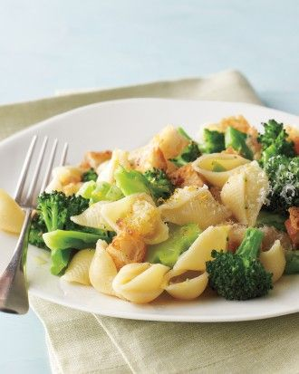 fettuccine with broccoli and pancetta croutons tenderstem broccoli ...