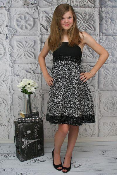 hadley s tween halter top dress and maxi pdf pattern