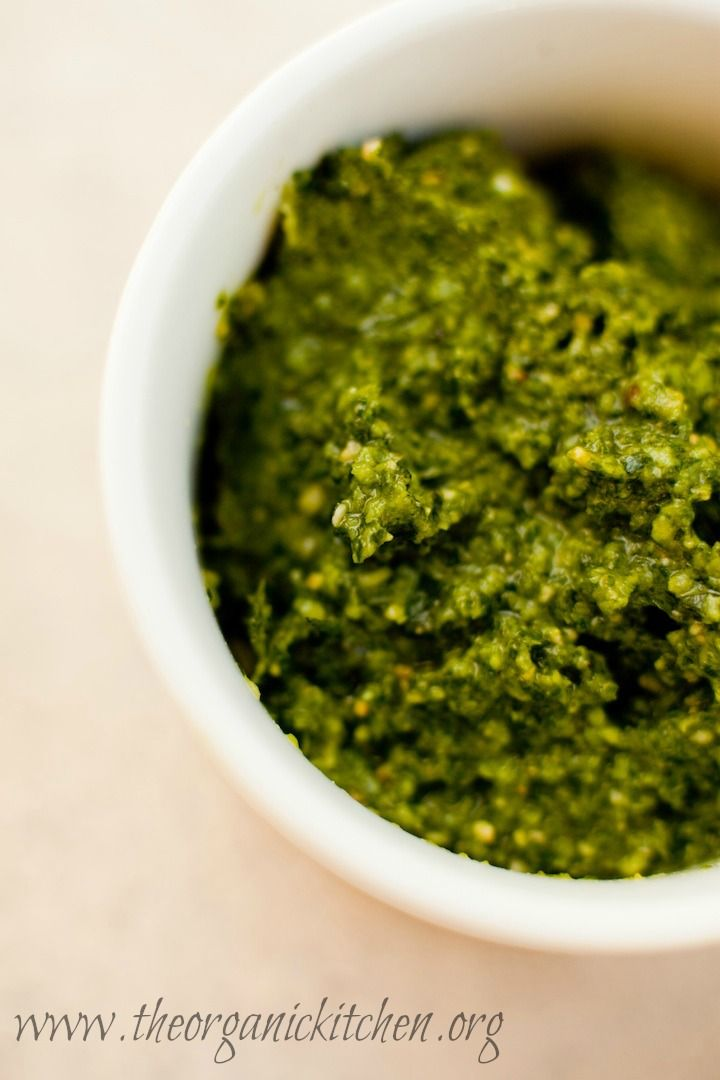 Fresh Basil Pesto Recipe — Dishmaps