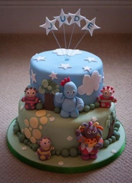 In the night garden cake cakes highly decorated cake for In the night garden cakes designs