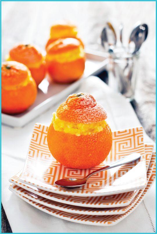 Frozen Clementine Sorbet ~ Simple citrusy recipe takes advantage of ...