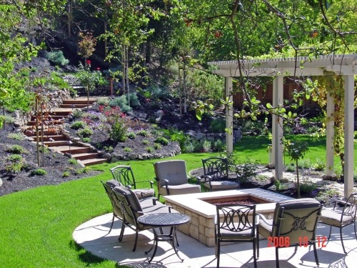 Pictures Of Square Fire Pits In A Backyard : square fire pit  GardeningBackyard  Pinterest
