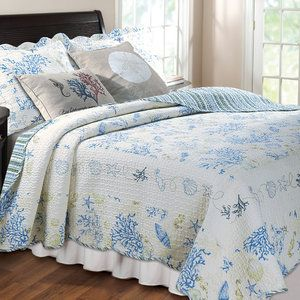 Better Homes And Garden Jeweled Damask Quilt Set Twin