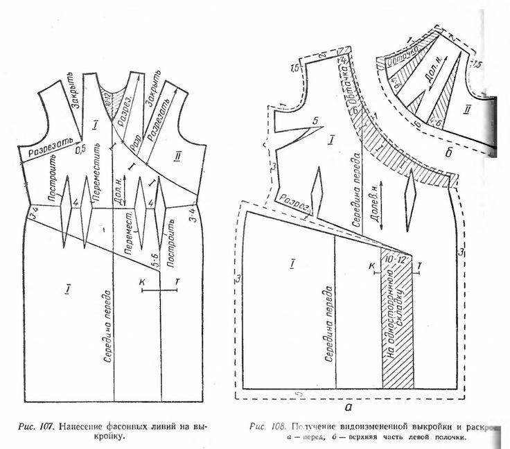 Асимметричное платье с резными линиями