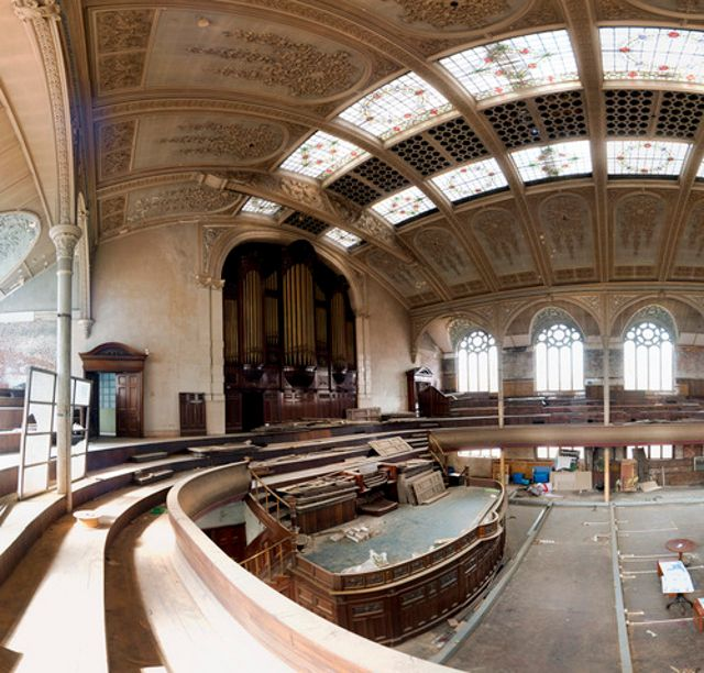 Albert Hall Manchester Abandoned Places Ruins And