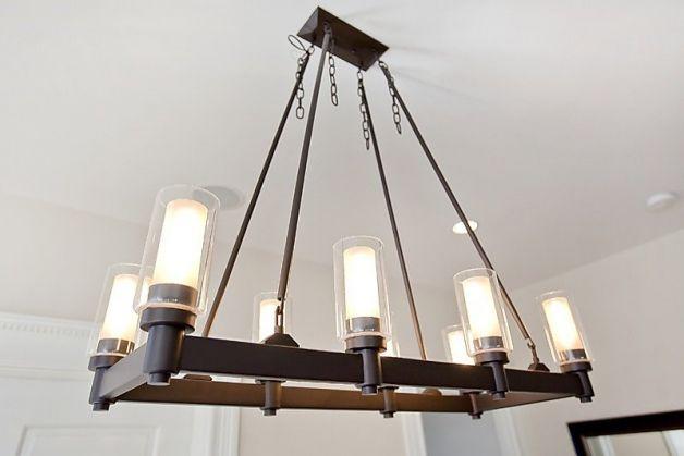 dining room chandelier mission style. Black Bedroom Furniture Sets. Home Design Ideas