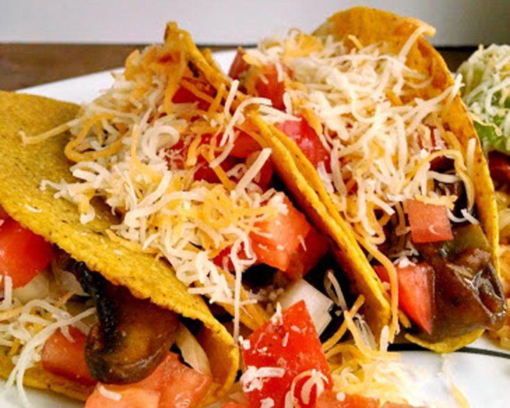 Portobello Tacos via @Meatless Monday | Meatless Monday Recipes | Pin ...