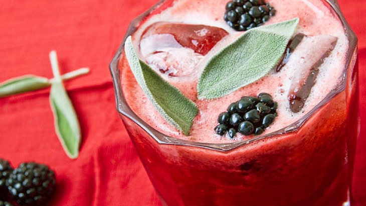Blackberry-Sage Lemonade | Recipes To Try: | Pinterest