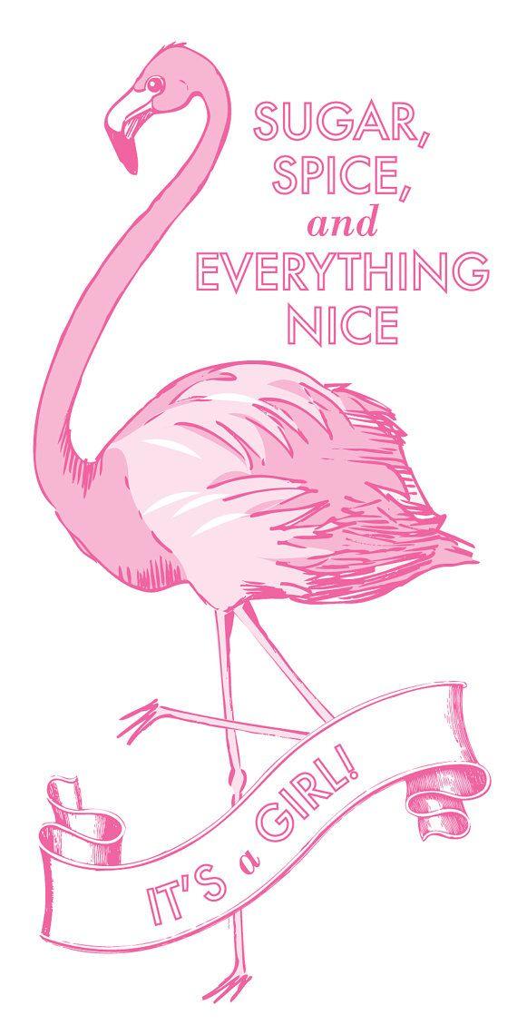 flamingo babyshower baby showers pinterest