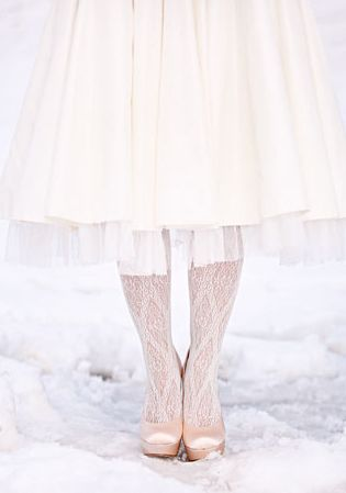Christmas Wedding Accessories - Tights and Stockings