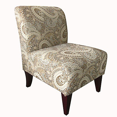 Best Abigail Surfside Armless Accent Chair Big Lots 129 99 400 x 300