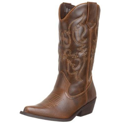 Madden Girl Women's Sanguine Boot.  $49.99 - $75.95            Get happy in Madden Girl's Sanguine boot. Its stitch-detailed upper has plenty of the easy, kick-up-your-heels Western style to give an outfit effortless, girl-next-door charm.