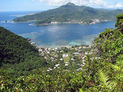 Tutuila Island American Samoa