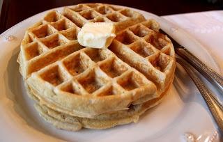 Cinnamon and Brown Sugar Oatmeal Waffles | Waffles & Pancakes | Pinte ...