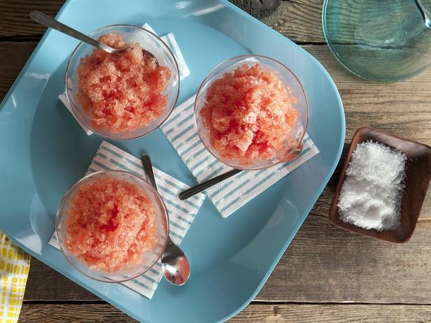 Watermelon, Ginger and Lime Granita | Recipe