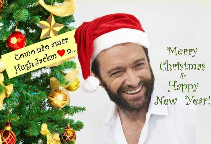 Merry Christmas and happy New Year! from Como Nao Amar Hugh Jackman