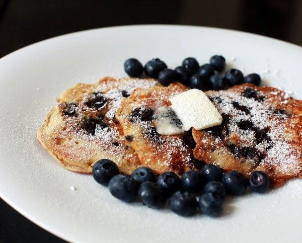 homemade blueberry pancakes! | Brunch | Pinterest