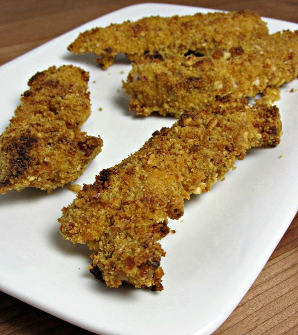 Pretzel Coated Honey Mustard Chicken Tenders - I guess we can sub ...