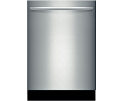 The Bosch 800 Plus series dishwasher, the quietest dishwasher on the market, but also the best at cleaning.