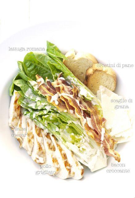 my Caesar's Salad by barbaraT [pane], via Flickr