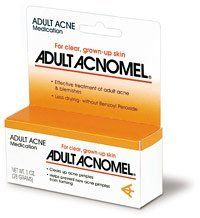 acnomel adult rosacea