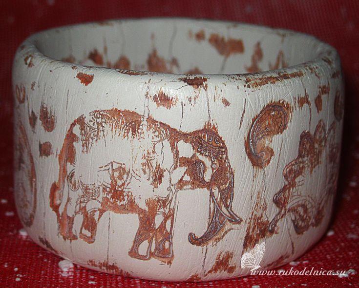 Браслет имитация слоновой кости