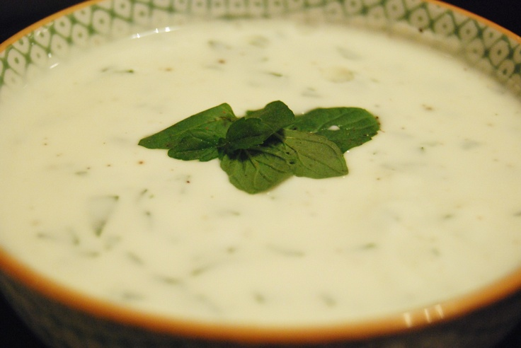 Mint Yogurt Sauce | Meals I Love | Pinterest