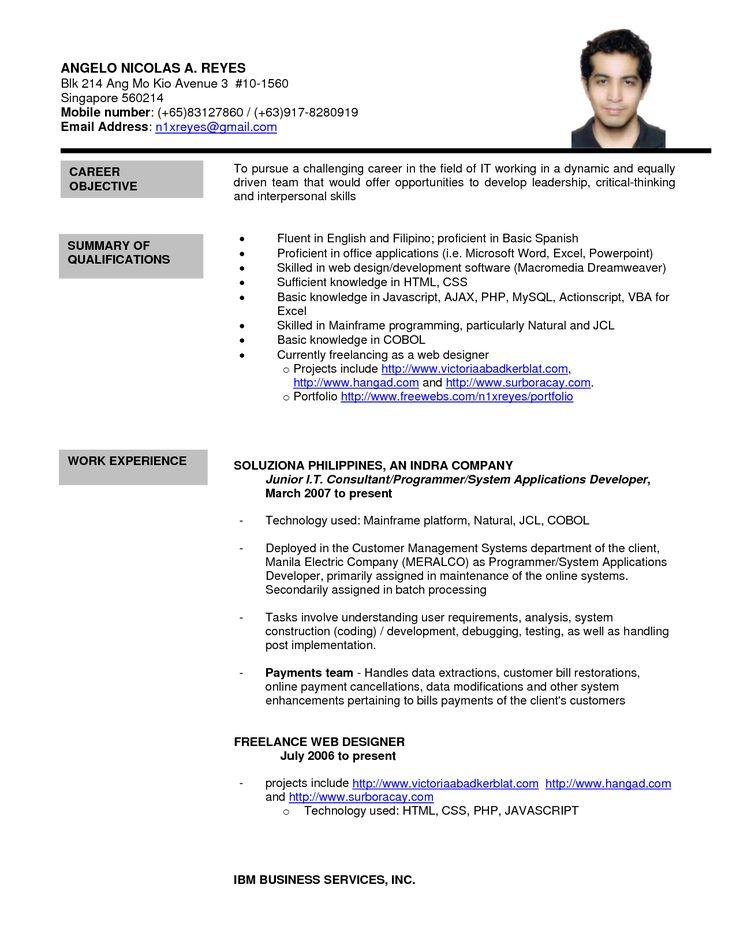 Job Application Letter Samples Nz