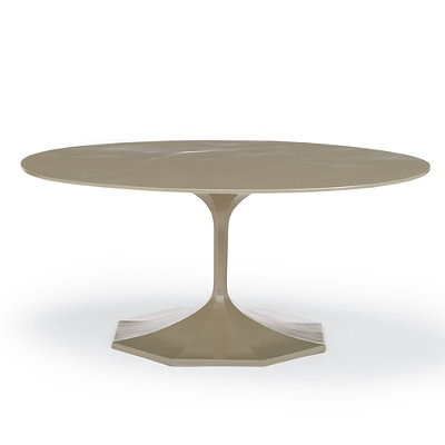 Milano Oval Outdoor Coffee Table Frontgate Patio Furniture