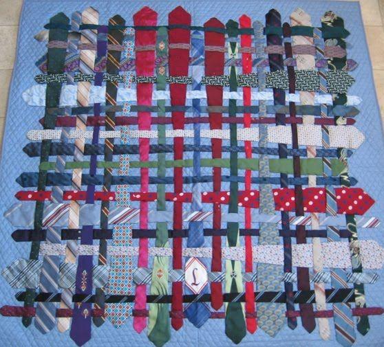 Necktie Quilt Creative Amp Crafty 9 Lives Of A Neck Tie