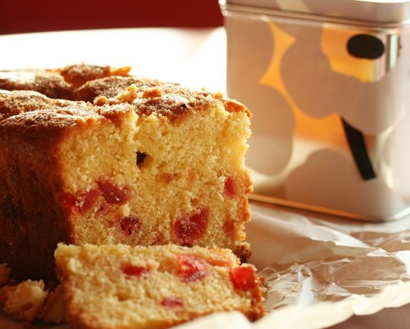 Cherry almond loaf cake | Cakery and Bakery | Pinterest