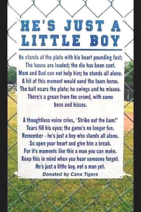 Little boys and Baseball <3