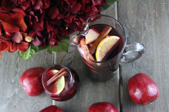 ... sangria, Wintry White Sangria, Red Wine Sangria, Spiced Apple Cider
