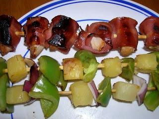 Six Sisters' Stuff: Chicken and Bacon Shish Kabobs