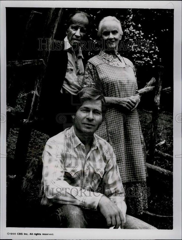 1990 press photo foxfire cbs tv cast jessica tandy john