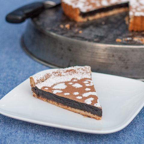 Mocha Tart with Shortbread Crust | Flour Arrangements