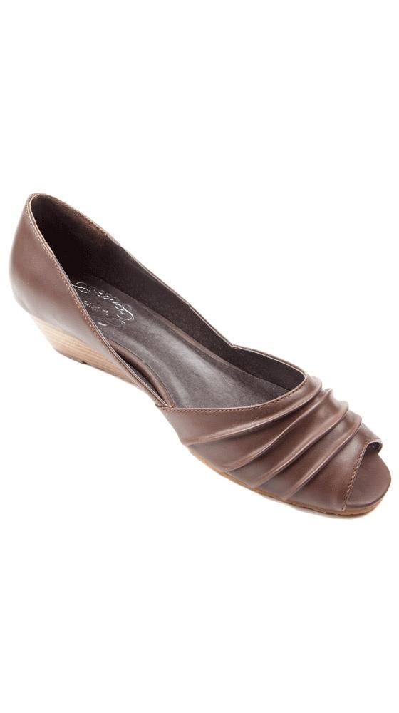 Alani, Brown by NYLA Shoes