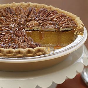 Pecan Pumpkin Pie | Recipe