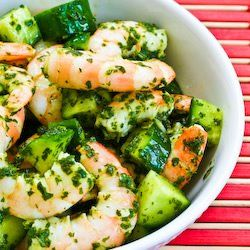 Recipe for Spicy Shrimp and Cucumber Salad with Mint, Lemon, and Cumin ...