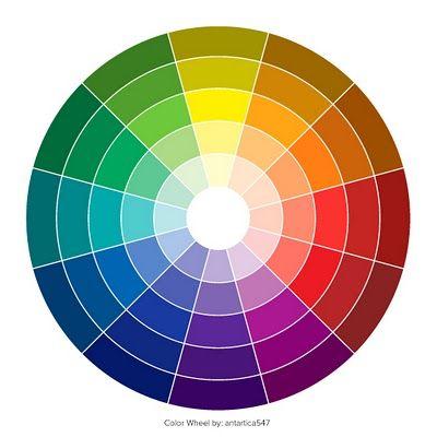 Rueda de color estilo de vida pinterest - Rueda de colores ...