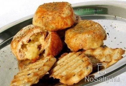 Húsmuffin újratöltve-quattro formaggi | Receptek | Pinterest