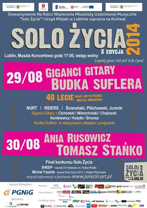 Solo Życia - festiwal i koncert