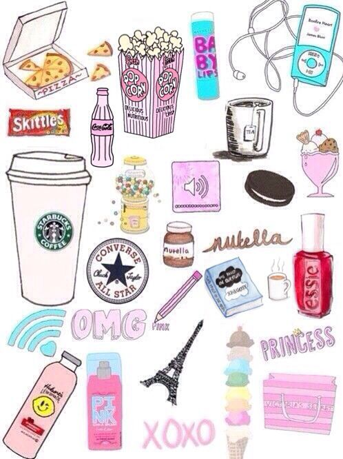 The gallery for girly things to draw tumblr for Girly tumblr drawings