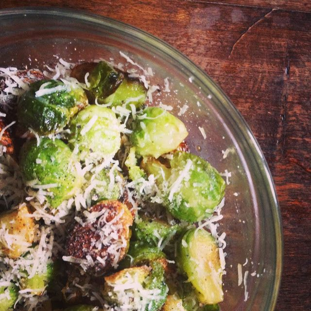 ... an Outlaw, Not a Hero: Comfort Food: Golden-Crusted Brussels Sprouts