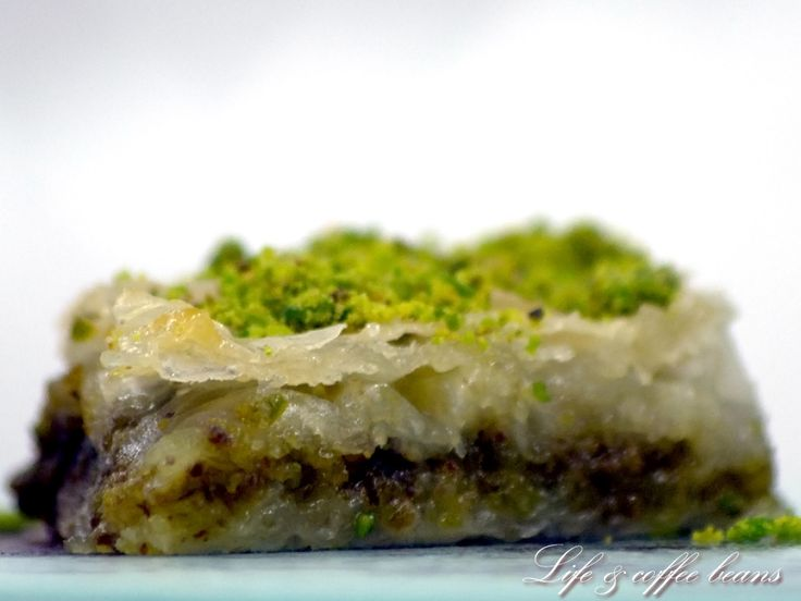 Pistachio baklava 3 | Various foods from my blog http://lifeandcoffee ...