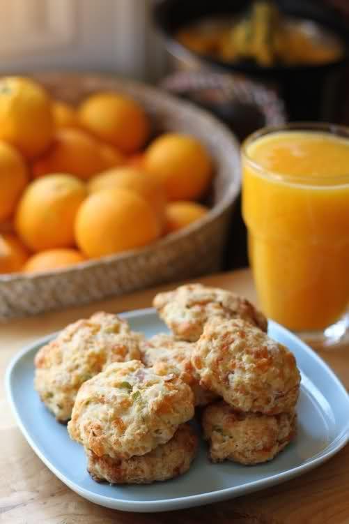 Cookies de cheddar y bacon | Food | Pinterest