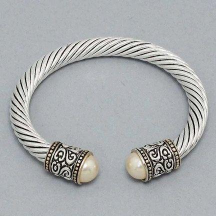 David yurman inspired adjustable bracelets black pearl for David yurman inspired jewelry rings